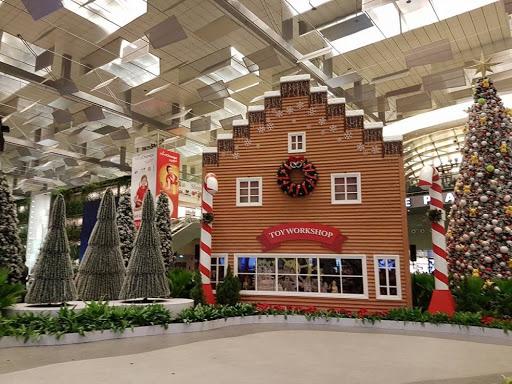 Christmas village at Changi Airport Singapore