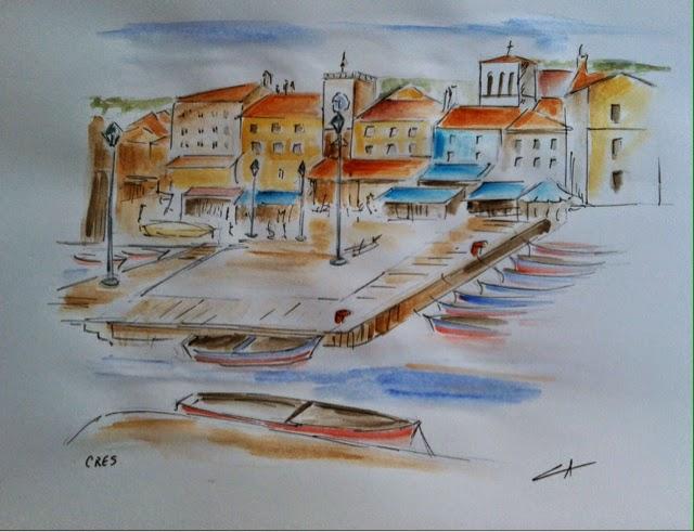 Port de Cres - Croatie