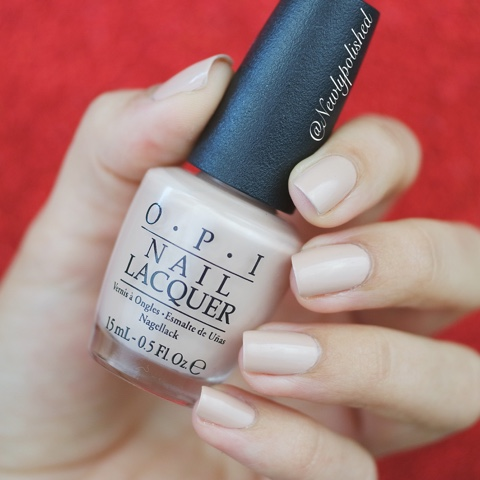 OPI Kerry Washington DC AW 2016 Pale to the chief