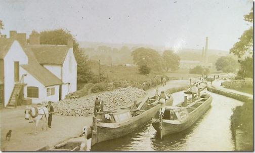 Limestone barges Caldon £62