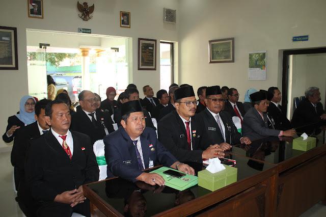 Pejabat Klaten ikuti Uji Gagasan Seleksi Calon Pejabat Eselon II