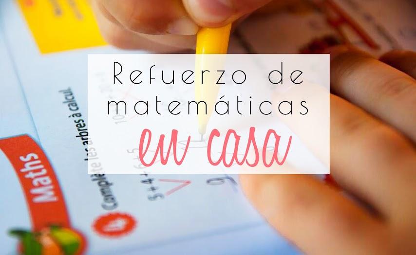 Cómo reforzar en casa las matemáticas de 1 de primaria