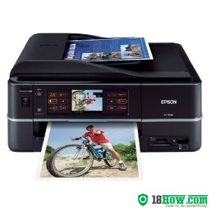 How to reset flashing lights for Epson EP-903F printer