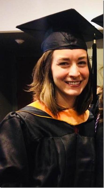 Jessica nursing school graduation
