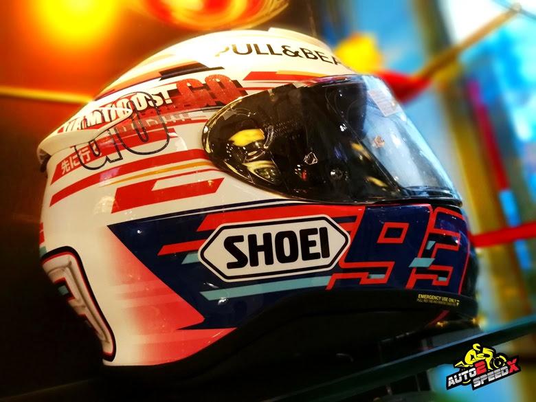 หมวกกันน็อค SHOEI Z7 Marquez Power UP