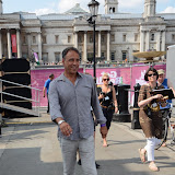 WWW.ENTSIMAGES.COM -  Anthony Horowitz  at Get Reading festival at Trafalgar Square, London Organised by the Evening Standard in partnership with e-reader firm NOOK July 13th 2013                                             Photo Mobis Photos/OIC 0203 174 1069