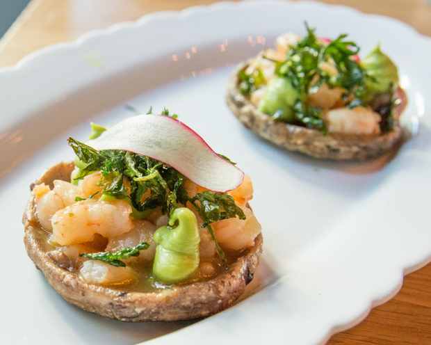photo of SHRIMP & BONE MARROW SOPES