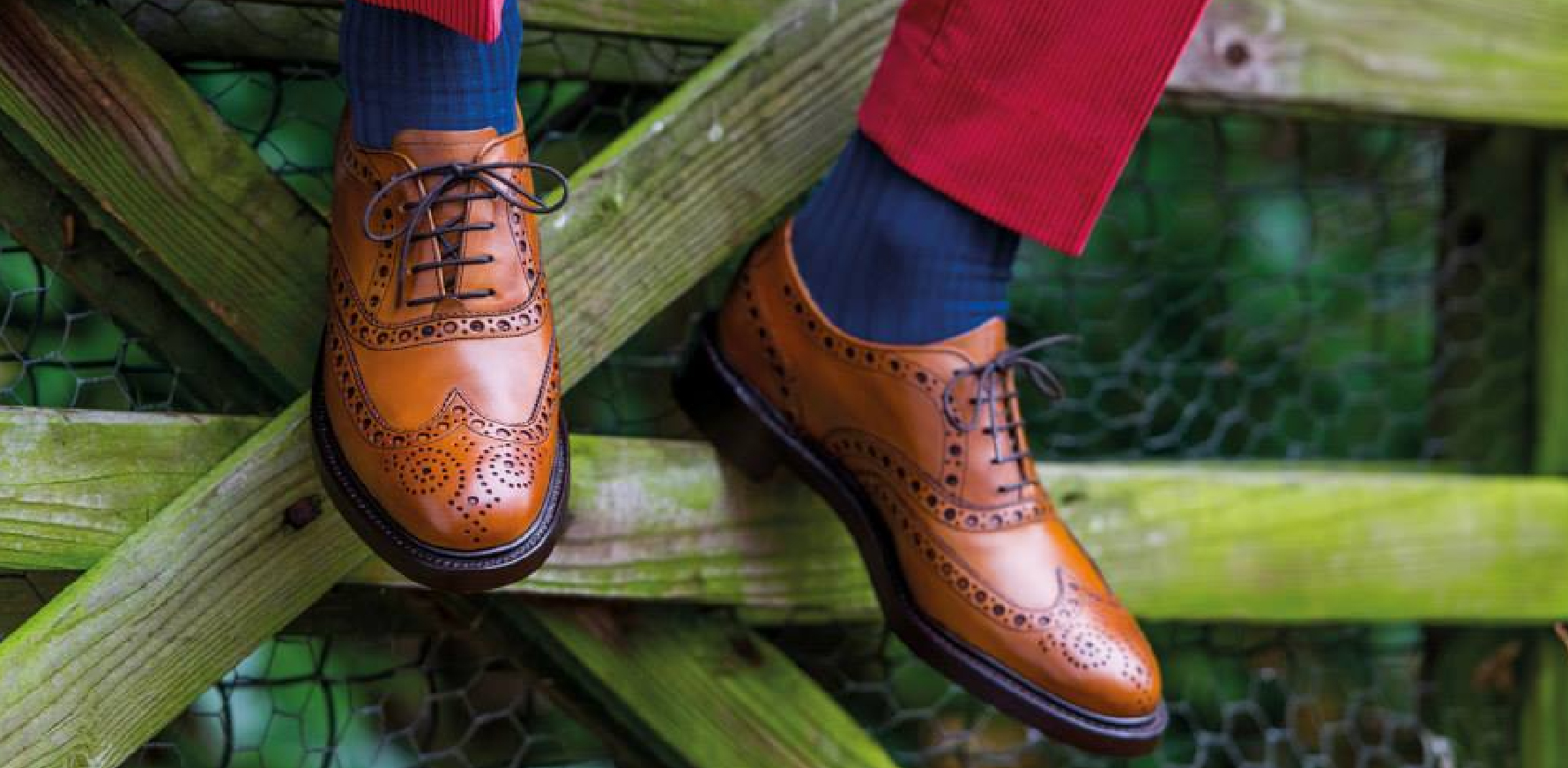 Wesrfield - Men's Brown Leather Brogue Shoes By Barker