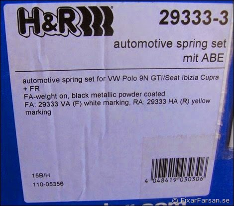 Polo-H&R-29333-3-Springs