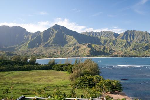 View of Makana (Bali Hai) Mountain from room