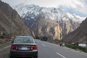 A random shot on Karakoram Highway near Gulmit, Gojal