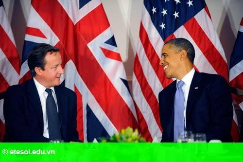 Hình 1: Khi quan hệ kinh tế Mỹ - Anh xuống dốc