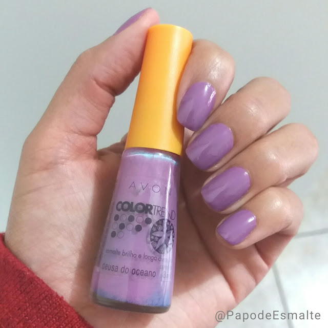 Deusa do Oceano - Avon Color Trend