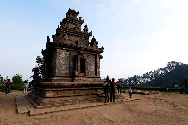 Uno de los templos de Gedong Songo