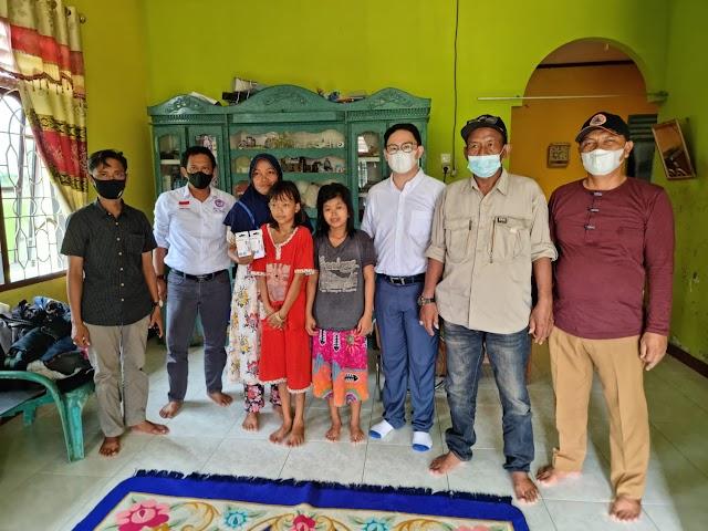Lembaga Perlindungan Anak  & LSM Formapera Deli Serdang Berikan Bantuan Hearing Aid Untuk Anak Tuna Rungu