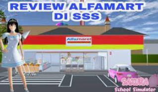 ID Alfamart dan Indomaret di Sakura School Simulator Dapatkan Disini