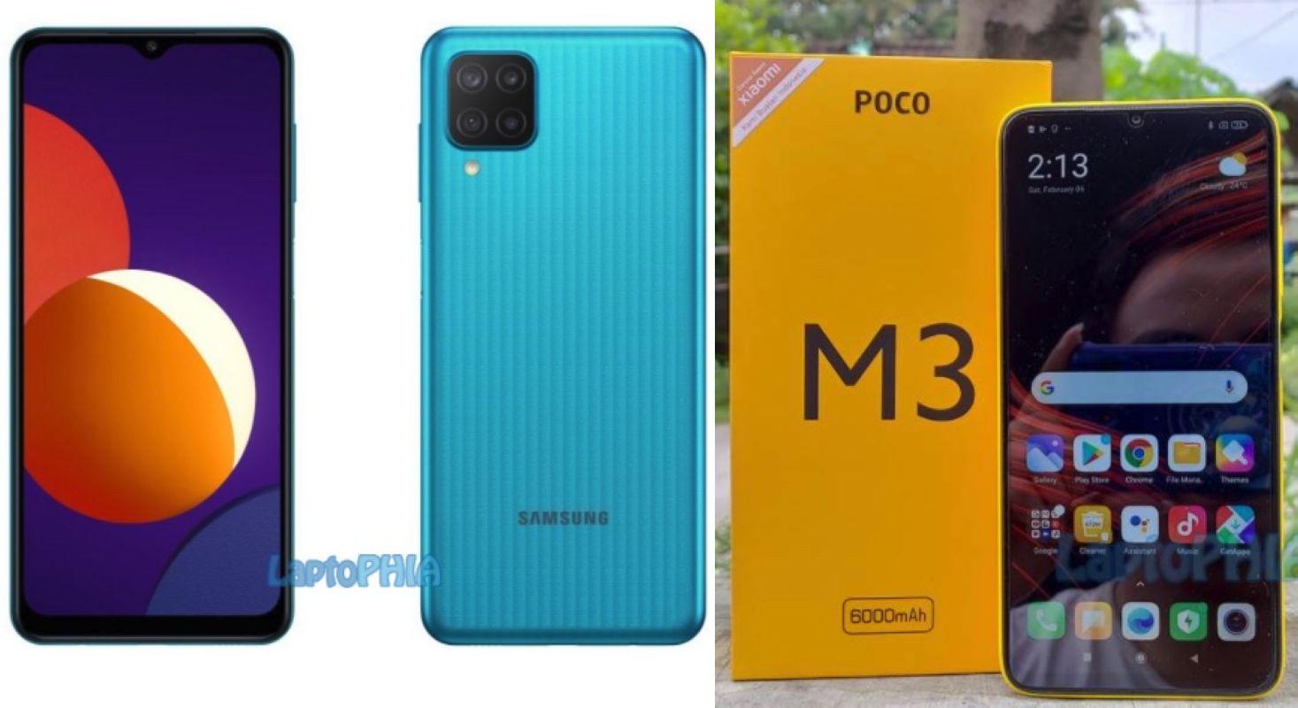Pertarungan Samsung Galaxy M12 vs Poco M3, Harga di Bawah 2 Juta Pilih Mana?