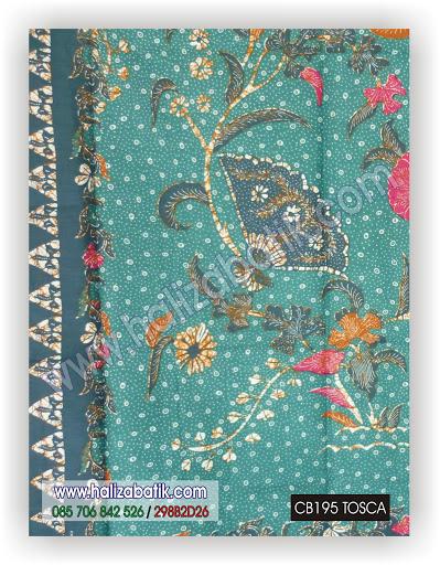 Macam Batik, Baju Online Murah, Model Batik Terbaru, CB195 TOSCA