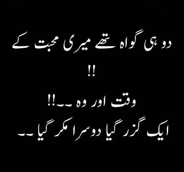 Urdu Sad Poetry/Shayari and Quotes at Cool Girls