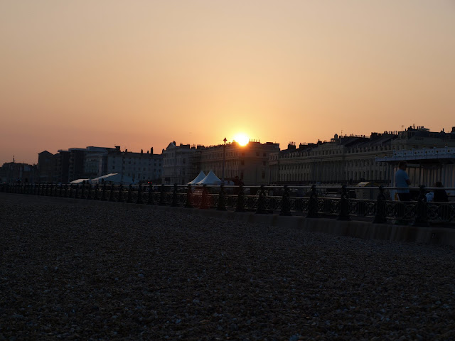Brighton sunset seaside