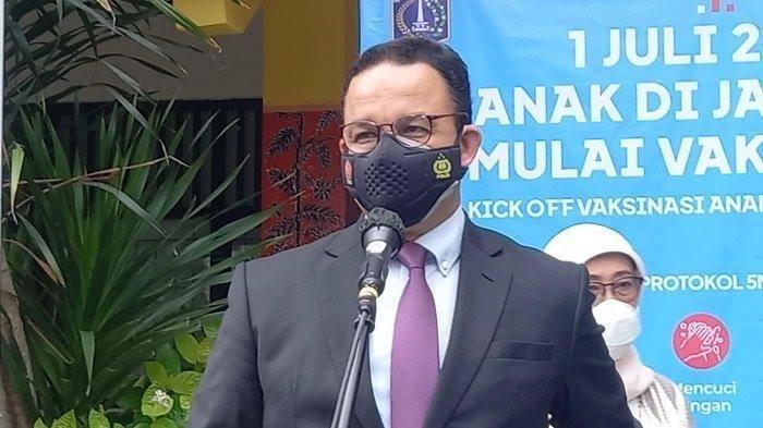 Anies: Ini Tanda Bahaya, Kematian di Jakarta Meningkat Amat Tinggi