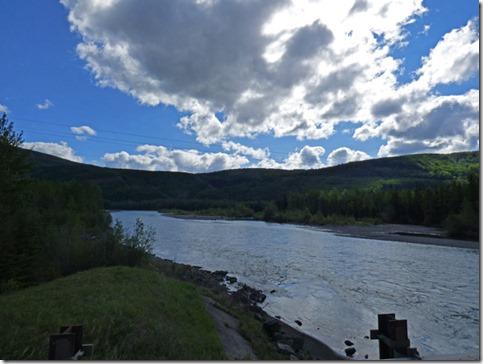 River along Highway 40