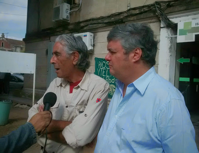 Campos Carlés fue contundente sobre Collia, su visita al hospital y el abandono de la salud pública