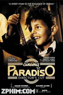 Rạp Chiếu Bóng Thiên Đường - Cinema Paradiso (1988) Poster