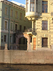 Buildings along Fontanka