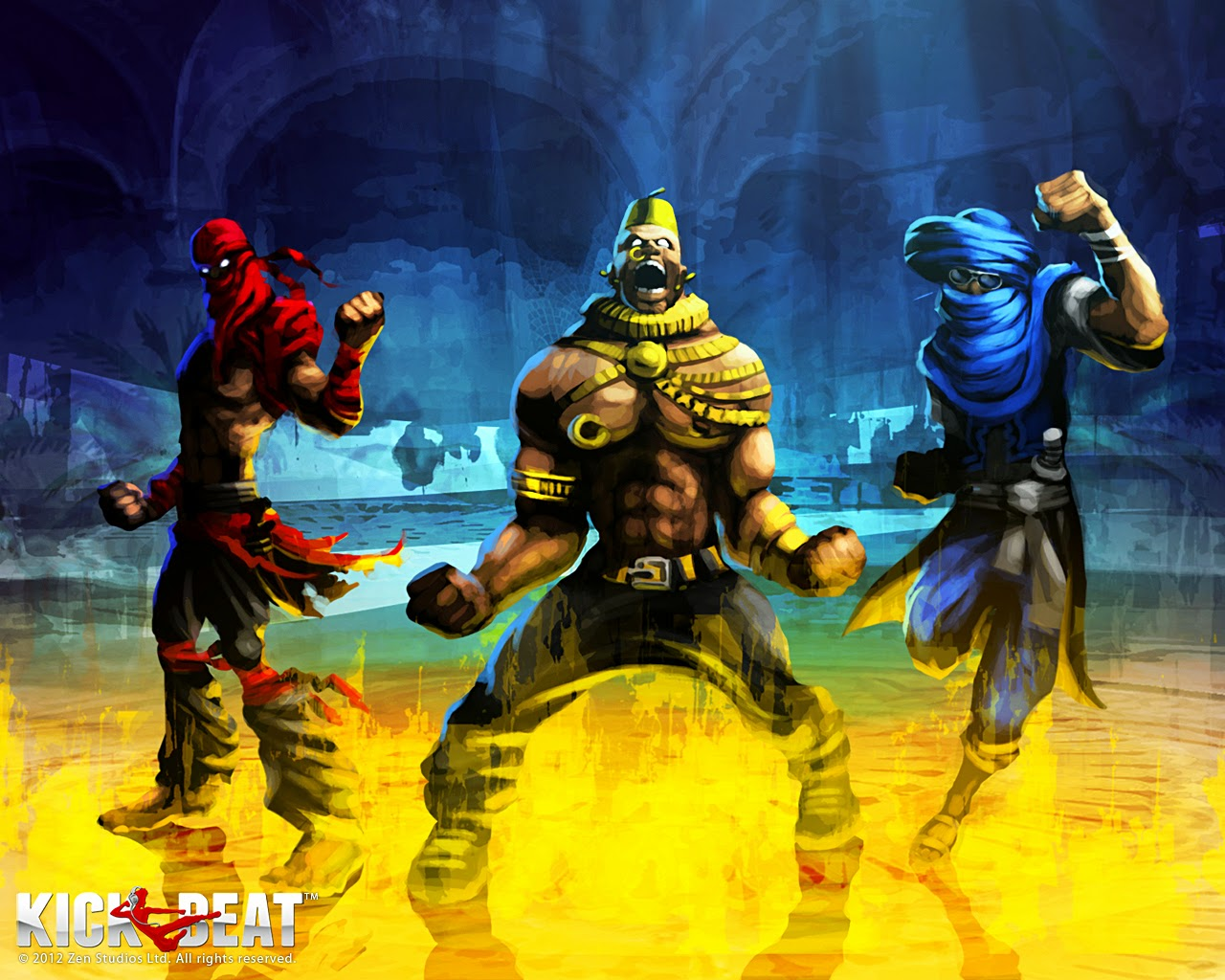 Loạt hình nền tuyệt đẹp của game âm nhạc KickBeat - Ảnh 10