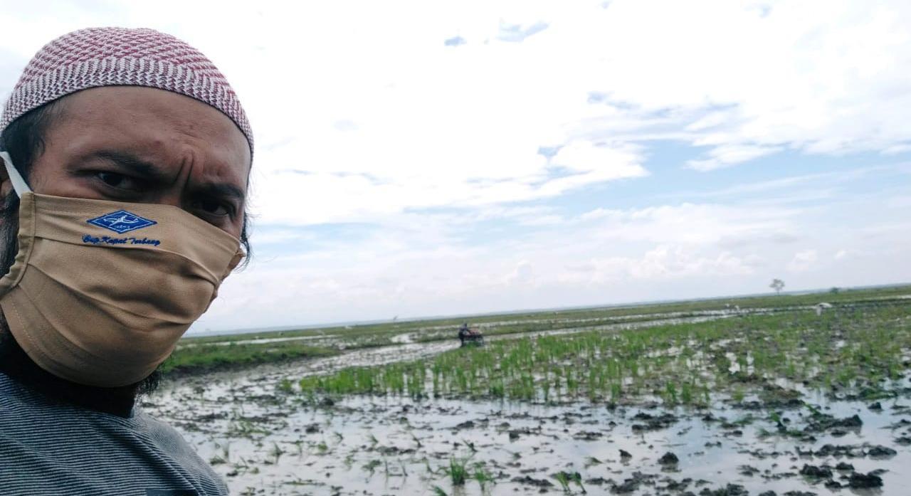 Yanto Penyuluh Pertanian Sidrap, Semangat Turun Ke Lapangan Dampingi Kegiatan Petani