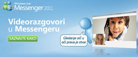 Videorazgovori u Windows Live Messengeru