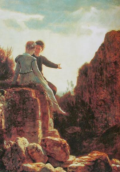 Arnold Böcklin - Hochzeitsreise