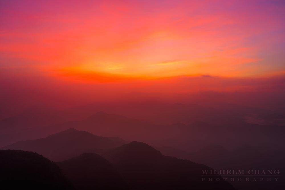 五分山薄霧、雲海、銀河