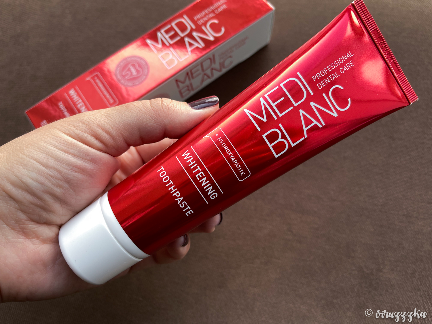 MEDIBLANC Whitening Toothpaste Review