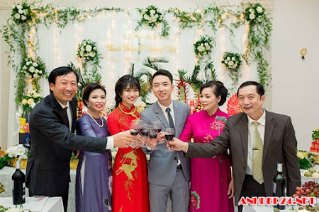 Lễ ăn hỏi hoành tráng trong lâu đài triệu đô ở Nam Định