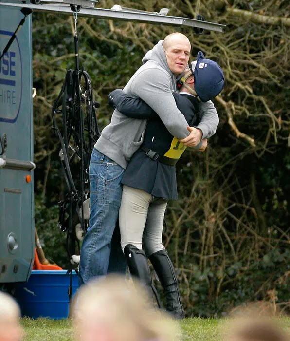 Mike and Zara Tindall's Cutest PDA Moments as they Celebrate Tenth Wedding Anniversary
