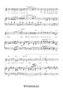 Первая песня Яги из кинофильма «Маша и Витя против Диких Гитар»: ноты
