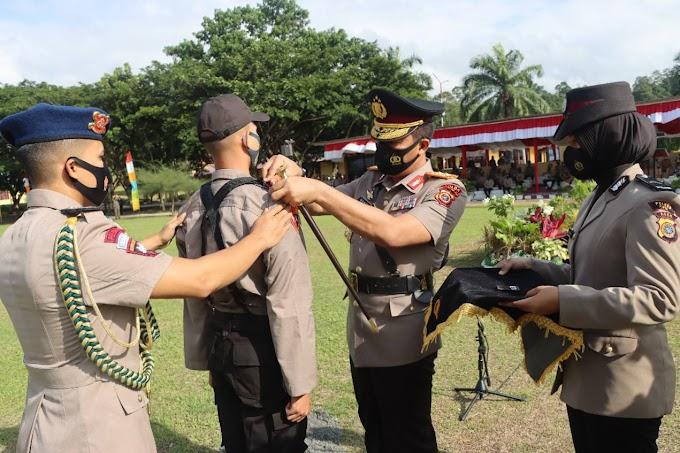 322 Siswa Calon Bintara Polri SPN Polda Aceh  Ikuti Pendidikan Selama 7 Bulan