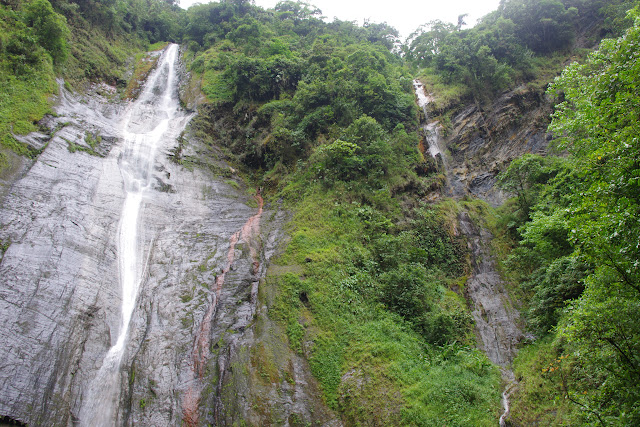 Cascade del Angel, Chivor, 1300 m, près de Santa María en Boyacá, (Boyacá, Colombie), 4 novembre 2015. Photo : J.-M. Gayman