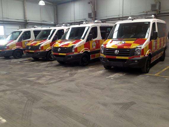 5 nuevos vehículos para Samur-Protección Civil