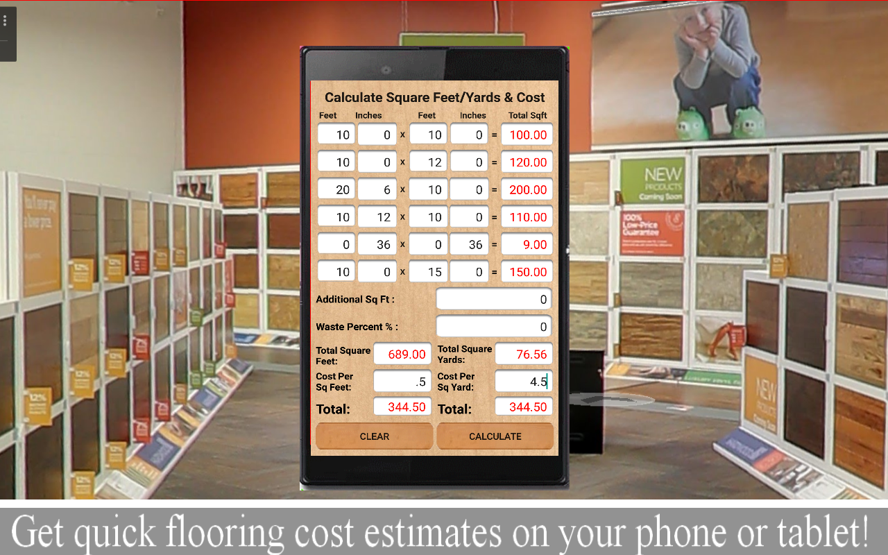 Square foot calculator for hardwood flooring gurus floor Floor square footage calculator
