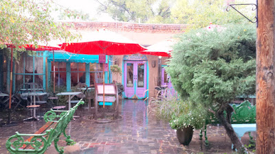 We started with lunch at the famous The Shed, a family owned restaurant since 1953. Some say it is the best place for chile in Santa Fe. I would definitely agree with the red chile, and the green chile had great flavor but would not be the spiciest we would have