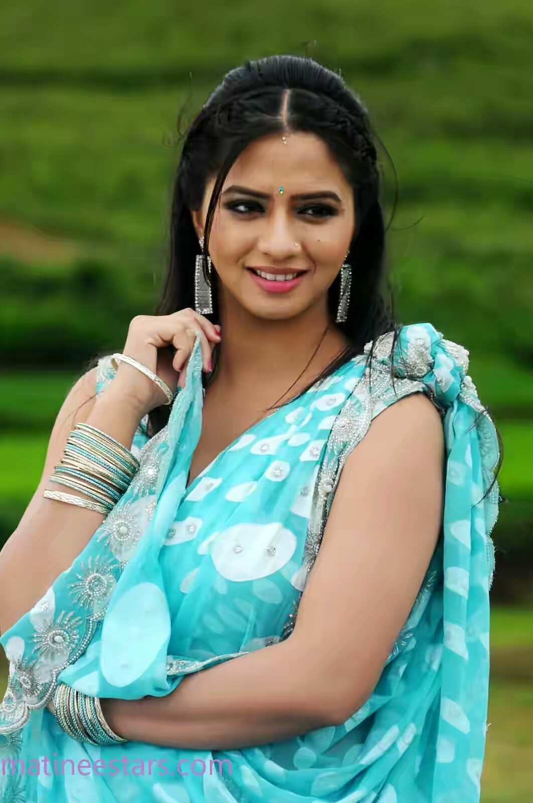 Actress Nisha Shah in Churidar Cute Stills | New Movie Posters