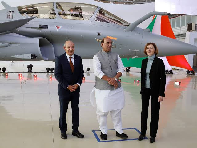 5 Rafales Leaves for India