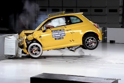 First US Fiat 500 crash test