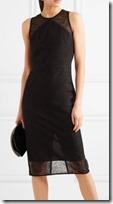 Diane von Furstenberg Panelled Bodycon Lace Dress