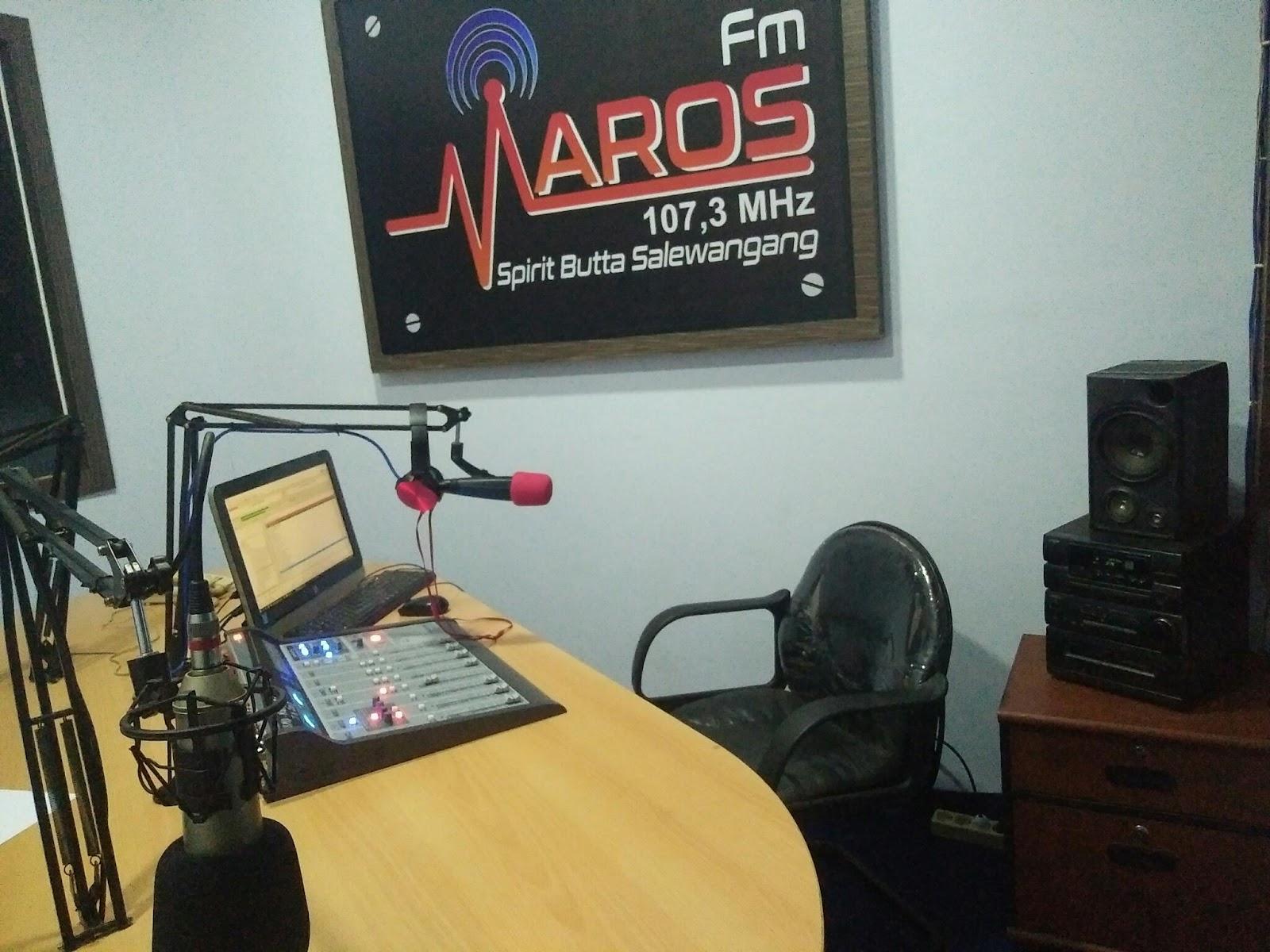 Radio Maros Fm Onair Kembali Setelah Berbenah Di Studio Baru 1023
