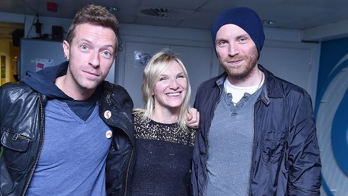 Jo Whiley Coldplay