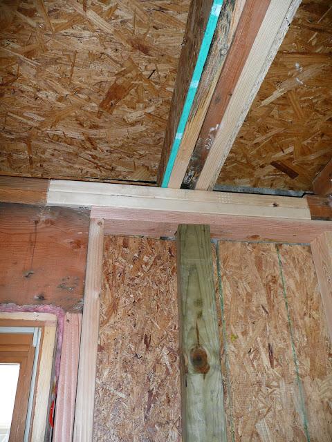 Carpentry - Water damage/after demo/ Cedarburg - P1000125.JPG